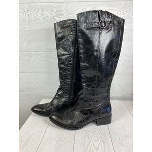 BORN CROWN Roxie 8.5  Leather ROXIE Riding  Boots